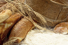 Fresh and tasty bread Stock Photo