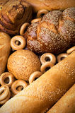Fresh tasty bread still life Royalty Free Stock Photo