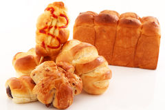 Fresh and tasty breads Royalty Free Stock Image