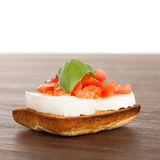 Fresh and tasty bruschetta Stock Images