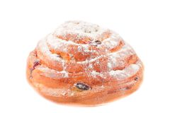 Fresh tasty bun Royalty Free Stock Photography