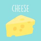 Fresh tasty cheese graphic  illustration Stock Photo
