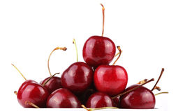 Fresh tasty cherries Royalty Free Stock Photography