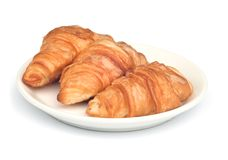 Fresh and tasty  croissant . Stock Photography
