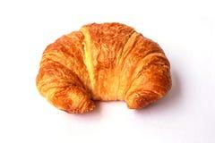 Fresh and tasty croissant. On white background Royalty Free Stock Photo