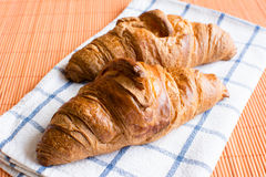 Fresh and tasty croissant Royalty Free Stock Images