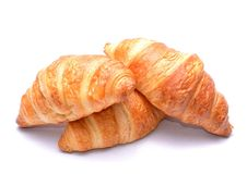 Fresh and tasty croissants Royalty Free Stock Image