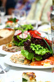 Fresh and tasty food on table Royalty Free Stock Photo