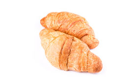 Fresh and tasty French croissants Royalty Free Stock Images