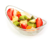 Fresh tasty fruits salad Royalty Free Stock Image