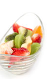 Fresh tasty fruits salad Royalty Free Stock Photos