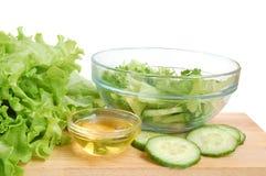 Fresh tasty greens Royalty Free Stock Image