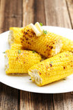 Fresh tasty grilled corn Stock Image