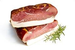Fresh tasty ham. In detail Royalty Free Stock Photography