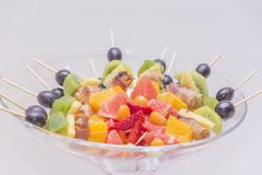 Fresh tasty healthy fruit royalty free stock photos