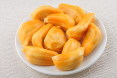 Fresh tasty Jack fruit. Jack fruit with seeds and fruit Stock Photography