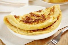Fresh tasty omelet Royalty Free Stock Photo