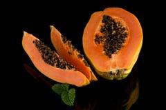 Fresh and tasty papaya Royalty Free Stock Photography