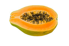 Fresh and tasty papaya Royalty Free Stock Photos