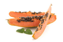 Fresh and tasty papaya Stock Photography