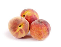 Fresh tasty  peach still-life. Royalty Free Stock Images