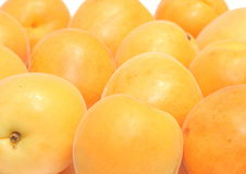 Fresh tasty peaches Stock Photos