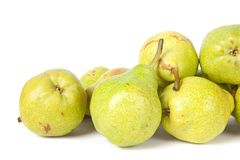 Fresh tasty pears Royalty Free Stock Photos