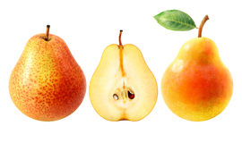 Fresh tasty pears Royalty Free Stock Image