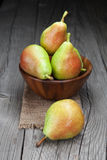 Fresh and tasty pears Royalty Free Stock Photo