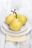 Fresh and tasty pears Royalty Free Stock Images