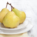 Fresh and tasty pears Stock Photo