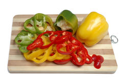 Fresh tasty peppers Royalty Free Stock Photo