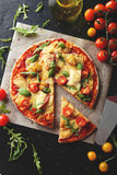 Fresh tasty pizza Royalty Free Stock Photography