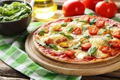 Fresh tasty pizza Stock Photo