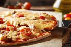 Fresh tasty pizza Stock Image