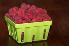 Fresh tasty raspberries Royalty Free Stock Images
