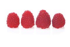 Fresh and tasty raspberry. Close up Stock Photo