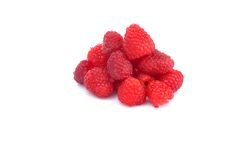 Fresh and tasty raspberry. Close up Royalty Free Stock Photos