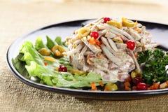 Fresh and tasty salad Royalty Free Stock Photos