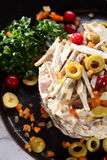 Fresh and tasty salad Stock Photo