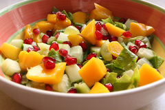 Fresh Tasty Salad. In a Bowl Stock Photography