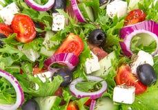 Fresh tasty salad Stock Photography