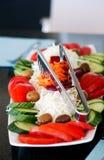 Fresh and tasty salad Stock Photography