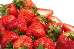 Fresh and tasty strawberries Stock Photos