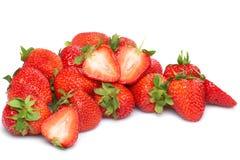 Fresh and tasty strawberries Stock Image