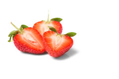 Fresh and tasty strawberries Royalty Free Stock Photos