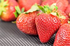 Fresh and tasty strawberries Stock Photo