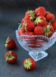 Fresh tasty strawberries Royalty Free Stock Photos