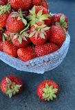 fresh tasty strawberries Royalty Free Stock Image