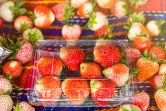 Fresh and tasty strawberries background, close up.Thailand. Fresh and tasty strawberries background, close up.Thailand Stock Image